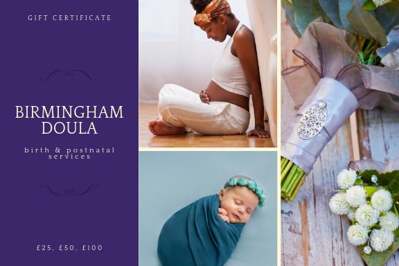 Birmingham Doula Gift Voucher